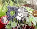 flores decorativas para macetas