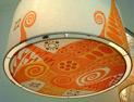 tambor de 60x30 pintado