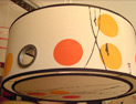 tambor de 40x18 pintado e intervenido