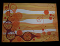 aplique de pared pintado70x15x100 cm